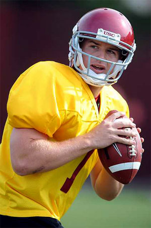 Frosh QB Barkley Impresses Coaches While Corp is out