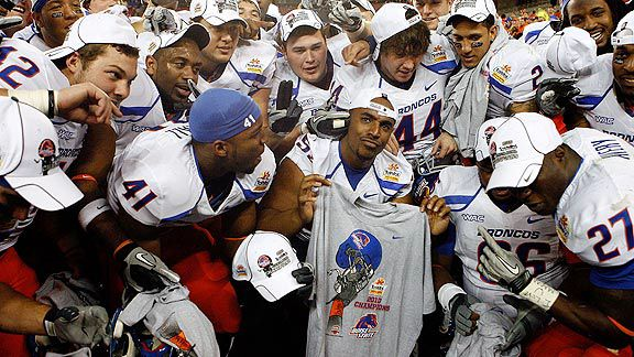 Can Boise State contend for the 2011 BCS National Title?