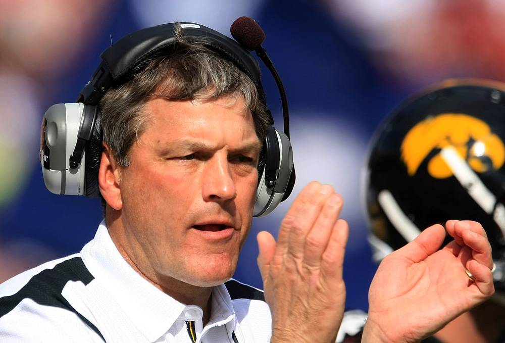 Is Kirk Ferentz the most overrated coach in college football?