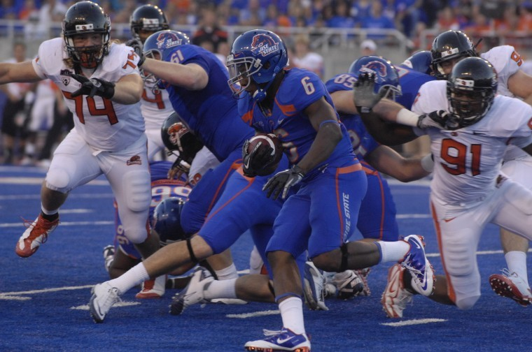 Boise State's DJ Harper is out for the season