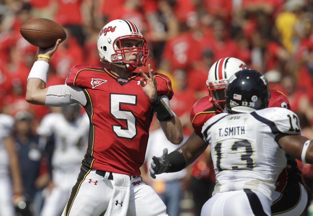 Maryland's Danny O'Brien named ACC Rookie of the Year