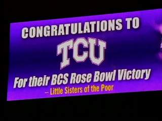billboard TCU sends big message to Ohio State