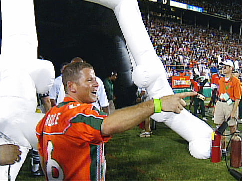 Miami bans boosters from sidelines