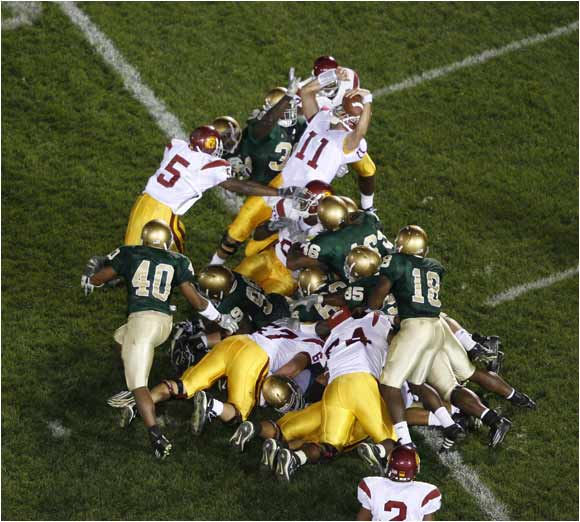 College football's 10 most dramatic rivalry game moments