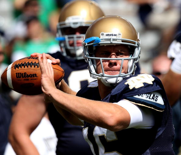 "Joe Montana on Notre Dame, ""It's hard to be in their corner"""