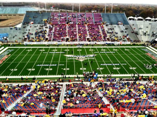 Is anyone at the Independence Bowl?