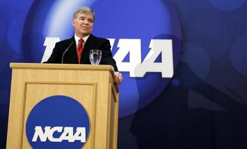 NCAA president mulling two-round playoff