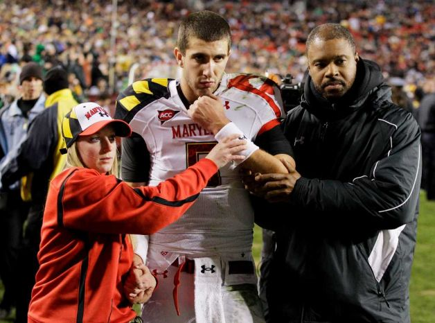 Maryland QB Danny O'Brien transferring