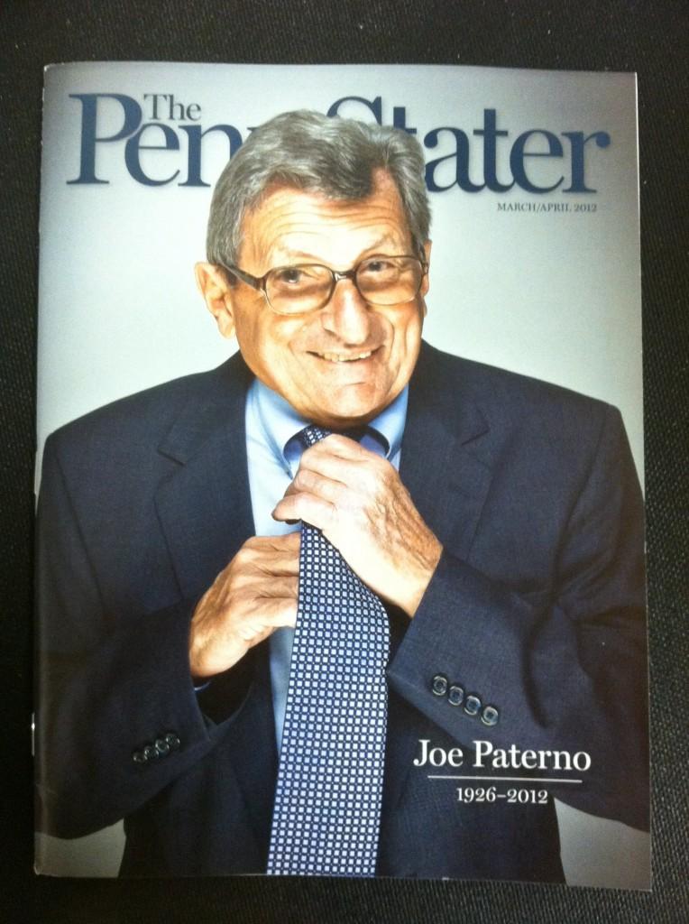 Penn State alumni magazine pays tribute to Joe Paterno