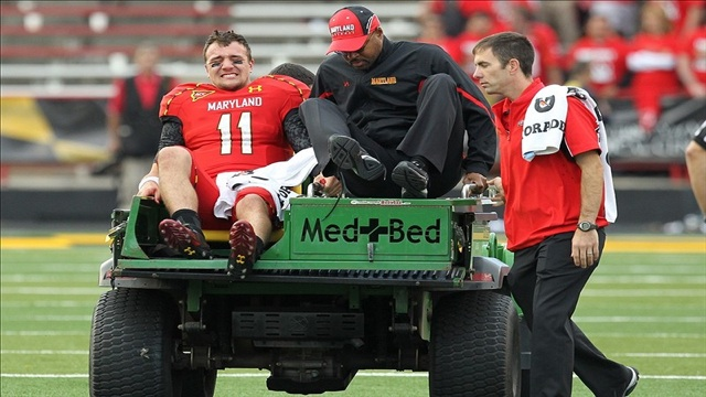 Perry Hills Injured Maryland QB Situation Gets Worse, Down To Two
