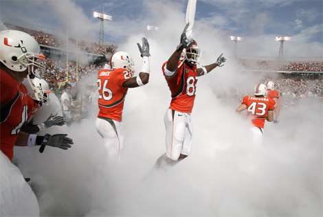 miami Miami Hurricanes Self Impose 2nd Straight Postseason Ban
