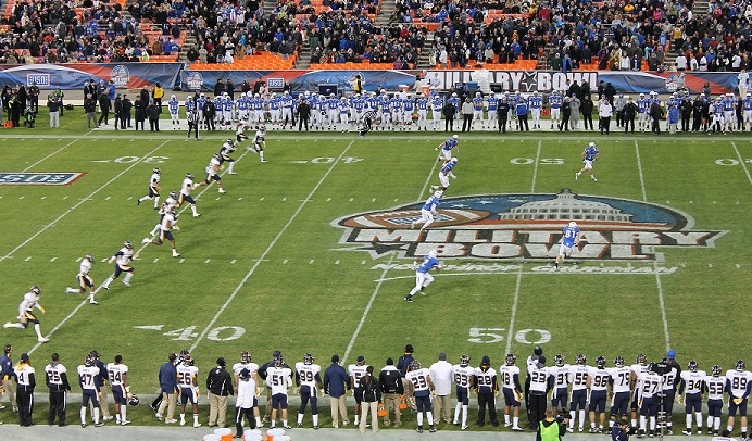 MB11 San Jose State faces Bowling Green in the Military Bowl