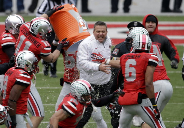 Urban Meyer led Ohio State to a perfect 12-0 in his first year at Columbus.