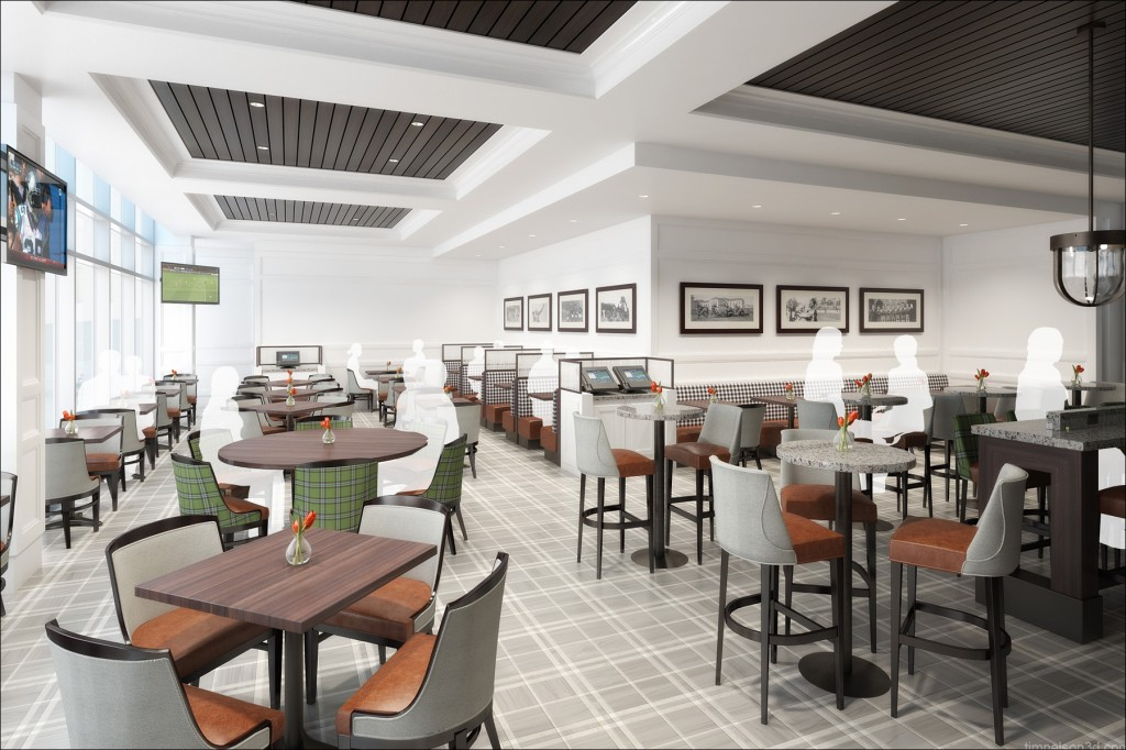 The ACC will open its first restaurant in 2014 at Raleigh-Durham International Airport.