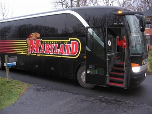 Maryland can park its bus, as Big 10 revenue will upgrade the school's travel.