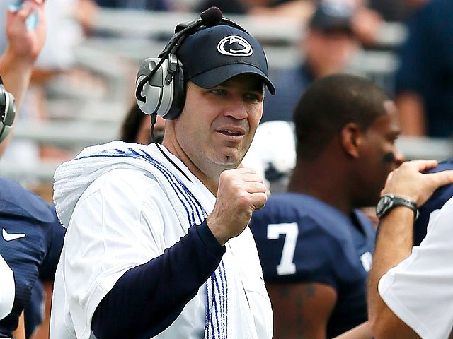 bill obrien1 Bill O'Brien wins BTN Coach of the Year
