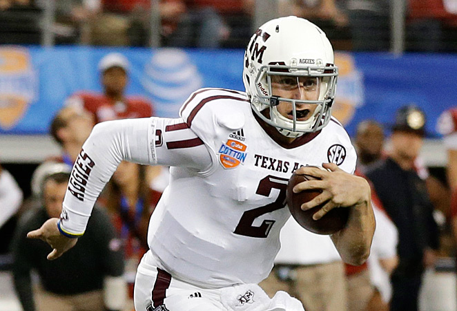 QB Johnny Manziel is set to take the stage and lead Texas A&M to BCS glory.