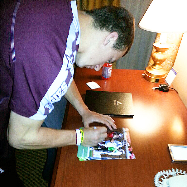 Was Manziel paid to sign autographs? (Photo: ESPN)