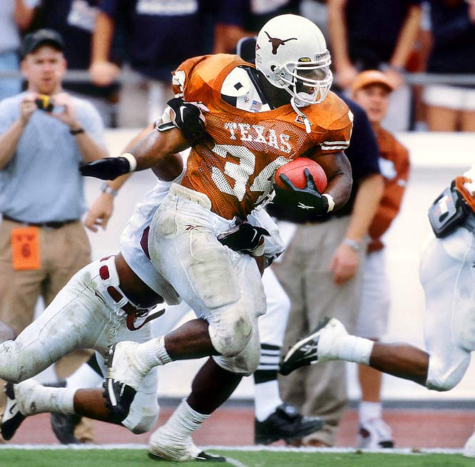 Ricky Williams is one of the biggest names to come out of Texas, is now set to coach. (Photo: Bob Rosato/SI)